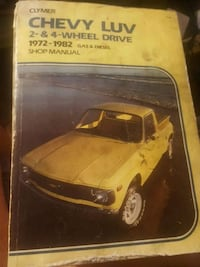 clymer Chevy luv manual