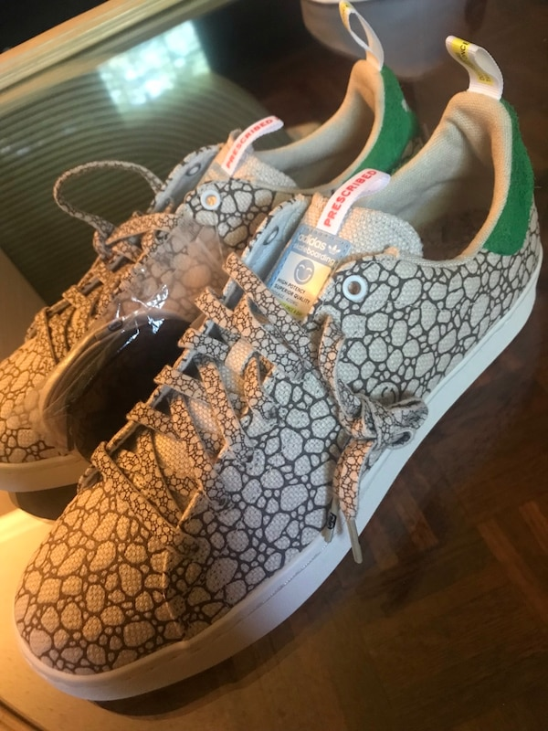 "best service d0691 7254b ADIDAS BAIT X STAN SMITH ""HAPPY 420"" VULC (SZ 10)"