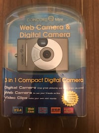 Grey concord mini web camera & digital camera with pack Chicago, 60639