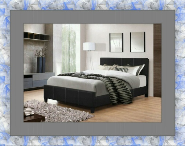 Full platform bed free box and delivery