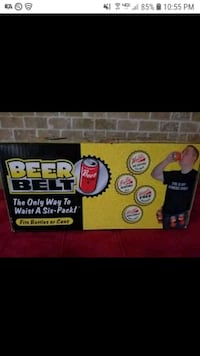 New Party Belt for Soda Beer & more Six Pack Novelty Gift