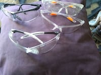 clear glass framed eyeglasses with case Grafton, 26354