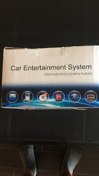 Car entertainment system new in a box