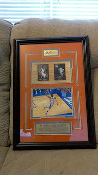 Russell Westbrook Autograph Picture Edmond, 73003