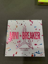 Jeffree Star Cosmetics Mini Breaker Palette and Snowcone Lipstick