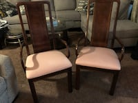 Two mahogany Thomasville chairs Cottonwood Heights, 84121