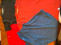 Men's workout tops, all 4 tops for $6 total, size small Waynesboro, 17268