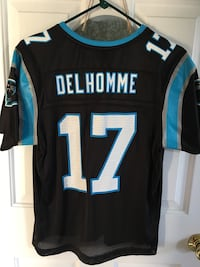 Blue gray and black del homme 17 jersey shirt Raleigh, 27616