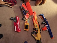 red and black Nerf guns Agoura Hills, 91301