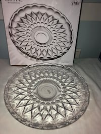 Crystal serving platter Surrey, V3V 7Z8