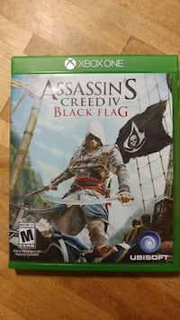 Assassin's Creed IV Black Flag Xbox One game Ashtabula, 44004