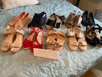 Brand New size 10 Shoe Collection...Never Worn. Only $200. (10 pair)