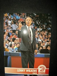 Lenny Wilkens Coach poster Suffolk, 23434