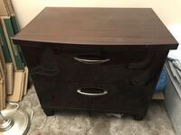 brown wooden 2-drawer chest and Dresser Stoney Creek, L8E 4E1