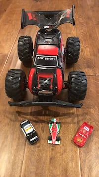 red and black RC car toy San Ramon, 94582