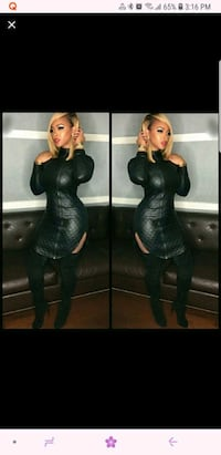 Leather Dress Manassas