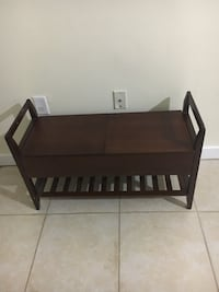 brown wooden crib with changing table Germantown, 20874