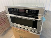 """Ge Monogram ZSC1001JSS 27""""  Electric Single Wall Oven - Speed Oven Sterling, 20164"""