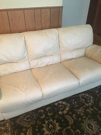 Free for pick-up now. Used couch with a few wear marks and rips. Available to the first one who wants it. Chicago, 60660