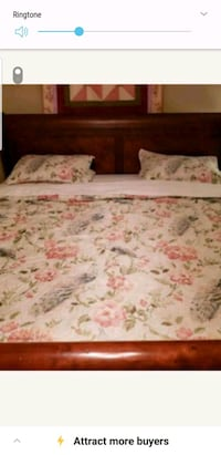 Brand new king size quilt set only token out to pu 41 km