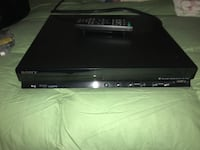 black Sony DVD player