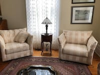 Chairs - sold as a pair - from Debors  Clarington, L0B
