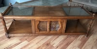 Coffee table real wood, very solid built, great shape Airdrie, T4B 3H2