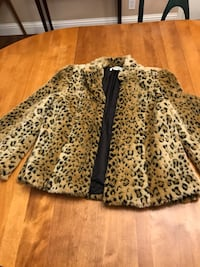 women's white and black leopard print skirt Pittsburg, 94565