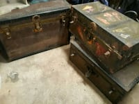 Old antique trunks from 1950 Cleveland, 77327