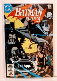 Batman comic Year 3 part 1 issue 436 Brampton, L7A 2R8