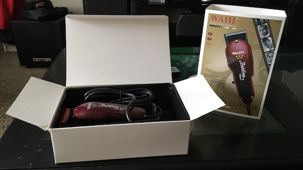 Brown wahl clipper in box