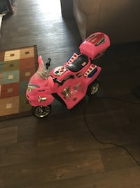 Pink and black Toy Power Motorcycle Austin, 78758
