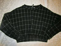 Womens size s black and white jumper London