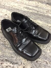 Boys leather bk dress shoes great for an up coming 1st communion Toronto, M6J 2S2