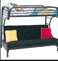 Bunk bed and futon combo Victorville, 92395