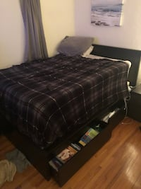 Full Bed Frame with box spring Miami, 33134