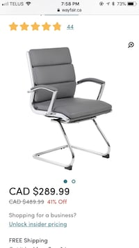 Wayfair Desk Chair - Brand New Condition Calgary, T3P 0W7