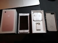 iPhone 7 128GB, Apple Leather Case Burnaby