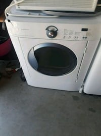 white front-load clothes washer 86 mi