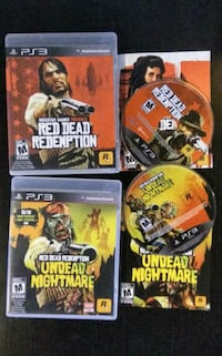 Red Dead Redemption + Undead Nightmare, Sony Playstation 3 New Westminster, V3M 3Y3