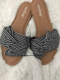 Fabric bow sandals NEW  Metairie, 70003