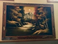 A beautiful, framed deer painting / would look gre Pocono Lake, 18347