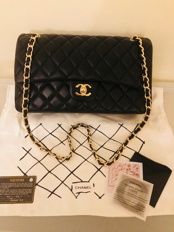 e6d44d0d2354 Chanel Black Flap Bag (went down significantly in price just to sell.) Still