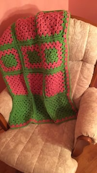 PINK AND GREEN AFGHAN Hughesville, 20637