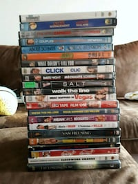 23 DVD's (3 new)  Winnipeg, R2J 1E9