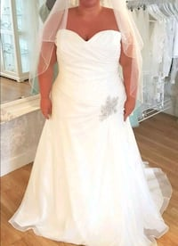 Plus Size Sparkle Wedding Dress Coventry