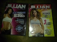 two Jillian Michaels DVD cases District Heights, 20747