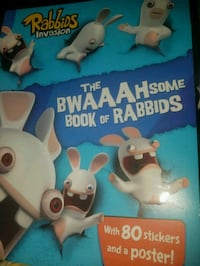 Rabbids Invasion stickers and poster box Pike County