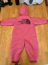 12-18 month reversible NorthFace snow suit Menomonee Falls, 53051