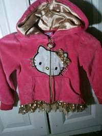 pink and black Hello Kitty zip-up hoodie Saint Marys, 26170
